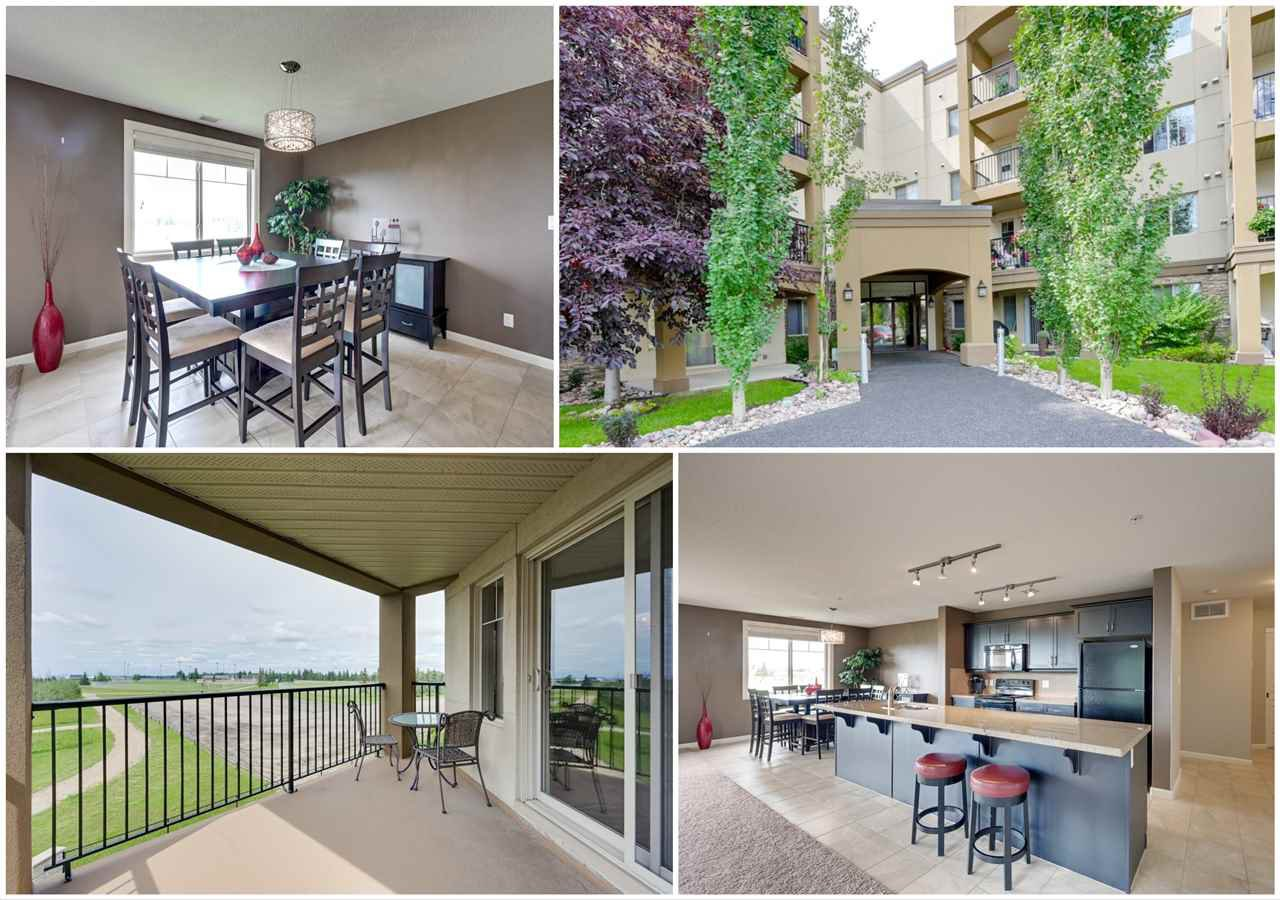 Main Photo: 320 400 PALISADES Way: Sherwood Park Condo for sale : MLS®# E4169276