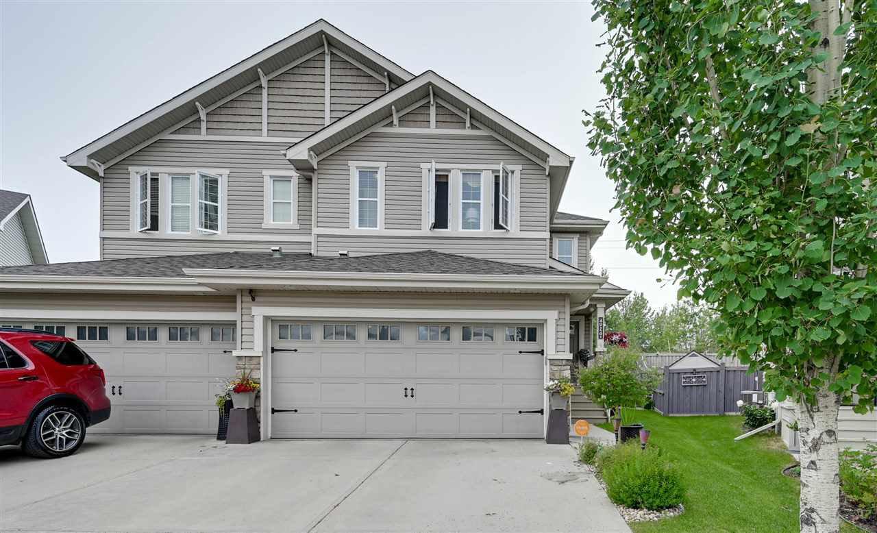Main Photo: 4926 214 Street in Edmonton: Zone 58 House Half Duplex for sale : MLS®# E4203697