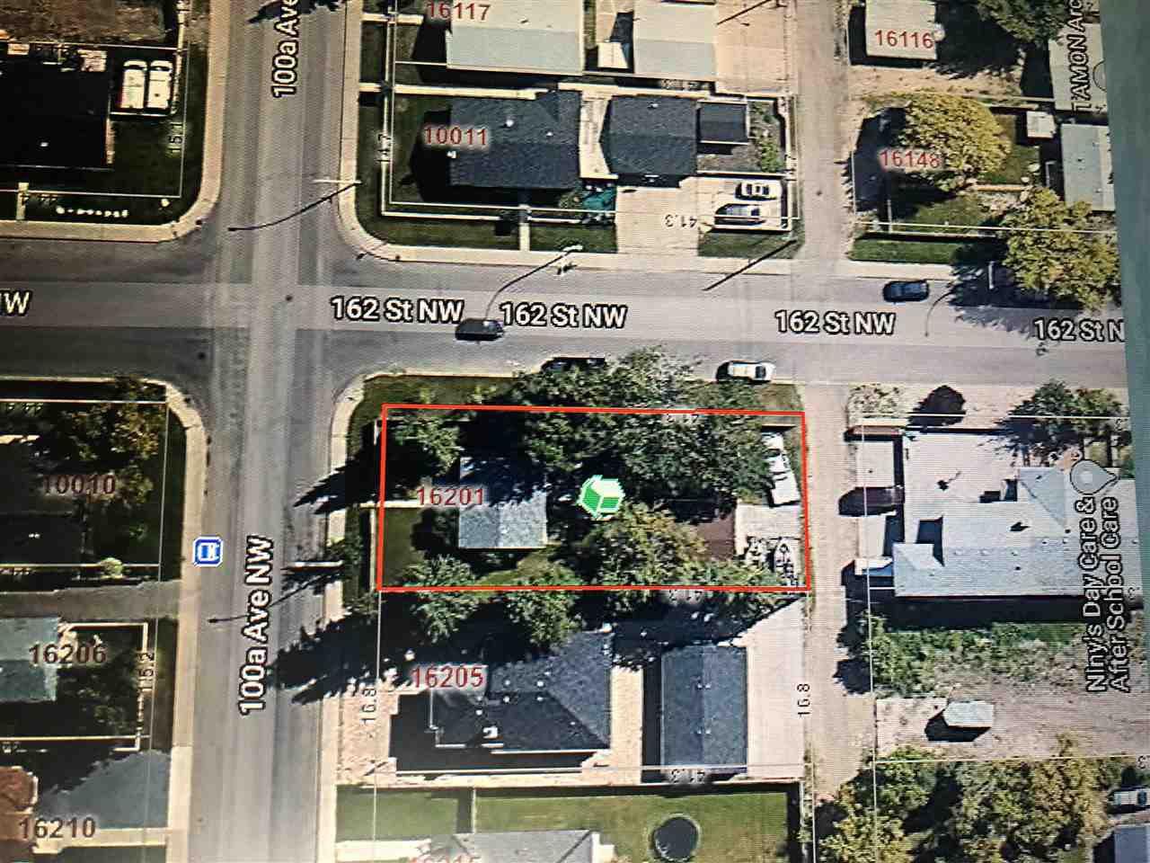 Main Photo: 16201 100A Avenue in Edmonton: Zone 22 Vacant Lot for sale : MLS®# E4212549