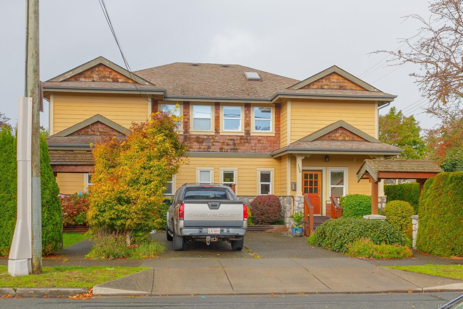Main Photo: 156 Linden Ave in : Vi Fairfield West Half Duplex for sale (Victoria)  : MLS®# 858071
