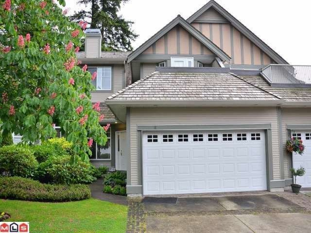 "Main Photo: # 18 5811 122ND ST in Surrey: Panorama Ridge Townhouse for sale in ""LAKEBRIDGE"" : MLS®# F1305265"