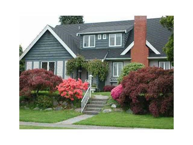 Main Photo: 4705 CHANCELLOR Boulevard in Vancouver: University VW House  (Vancouver West)  : MLS®# V1132684