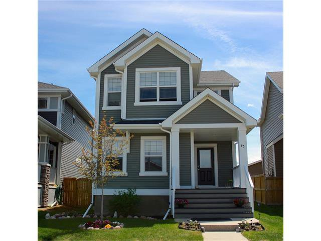 Main Photo: 13 RIVER HEIGHTS GR: Cochrane House for sale : MLS®# C4031503