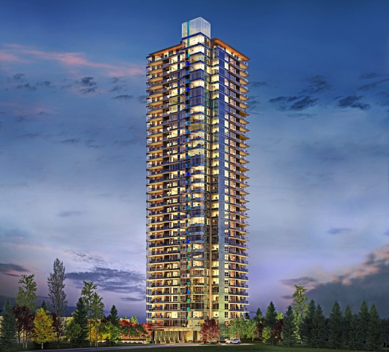 Main Photo: 2701 5883 Barker Avenue in Burnaby: Condo for sale (Burnaby South)  : MLS®# V1086715
