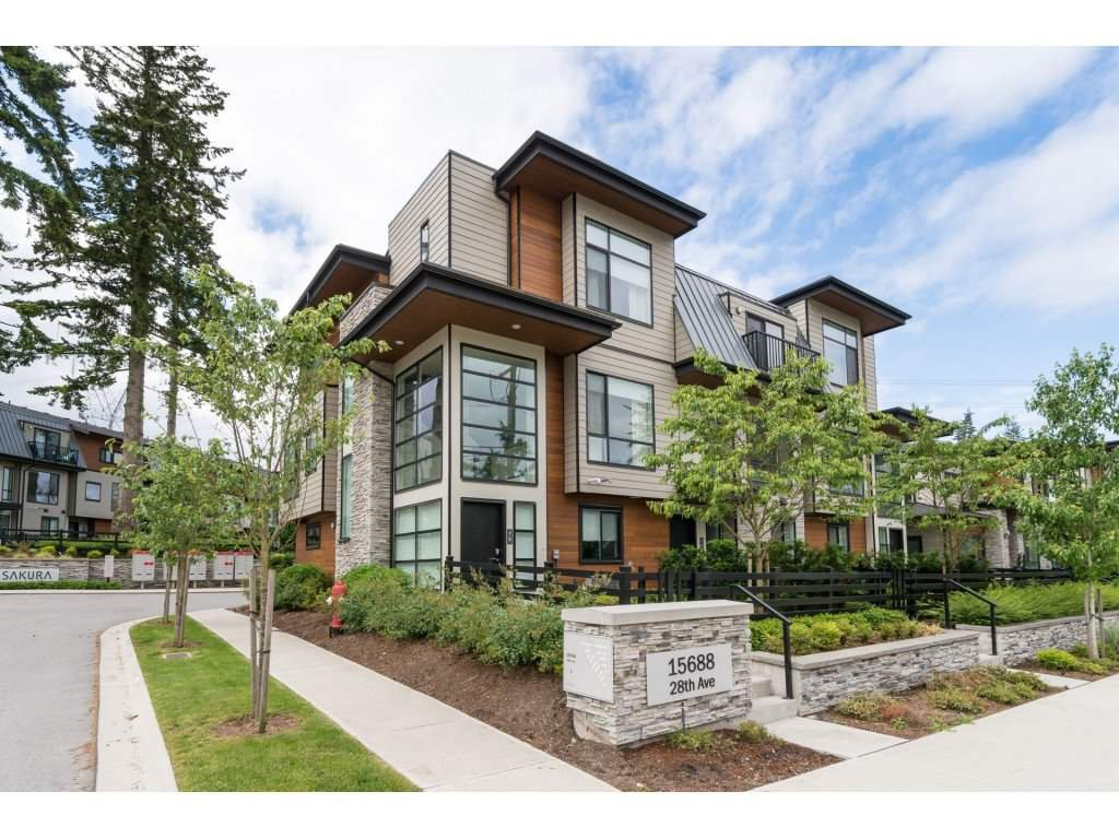 Main Photo: 75 15688 28 AVENUE in : Grandview Surrey Townhouse for sale : MLS®# R2173129