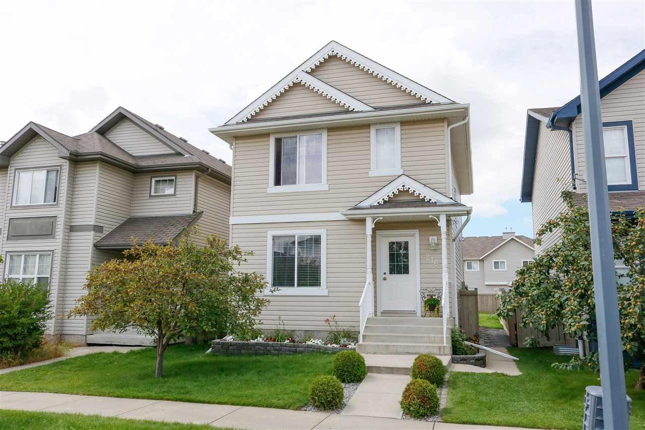 Main Photo: 216 85 Street in Edmonton: Zone 53 House for sale : MLS®# E4207924