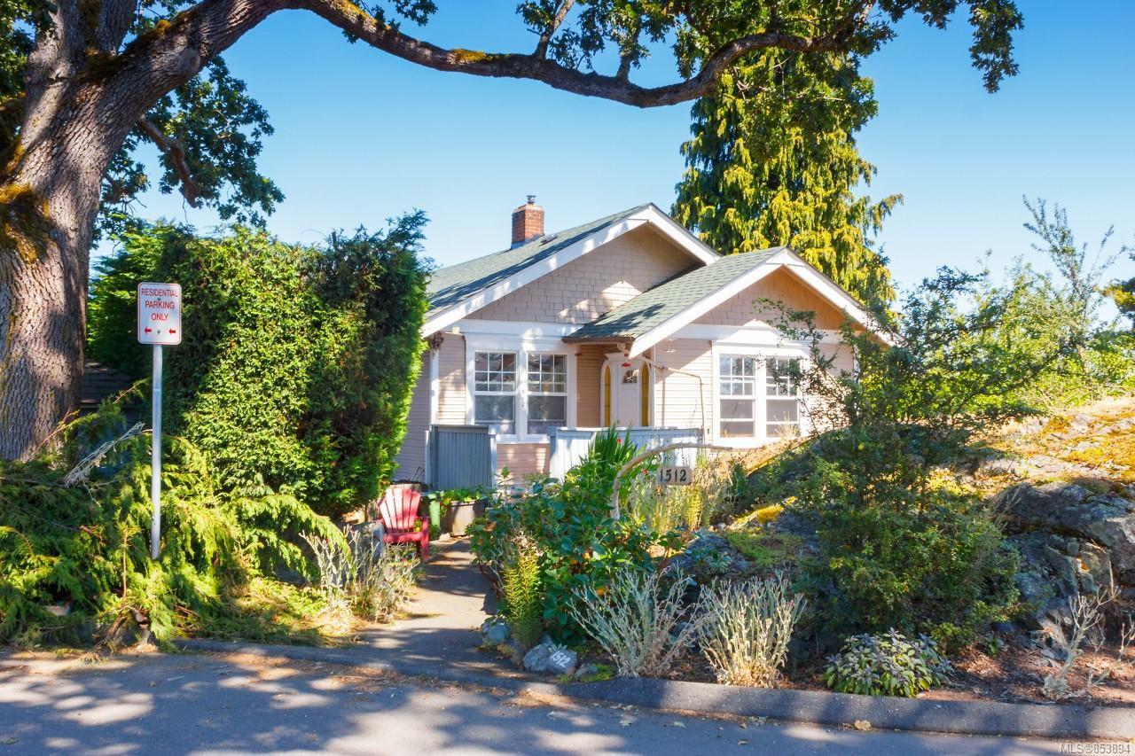 Main Photo: 1512 Pearl St in : Vi Oaklands Half Duplex for sale (Victoria)  : MLS®# 853894