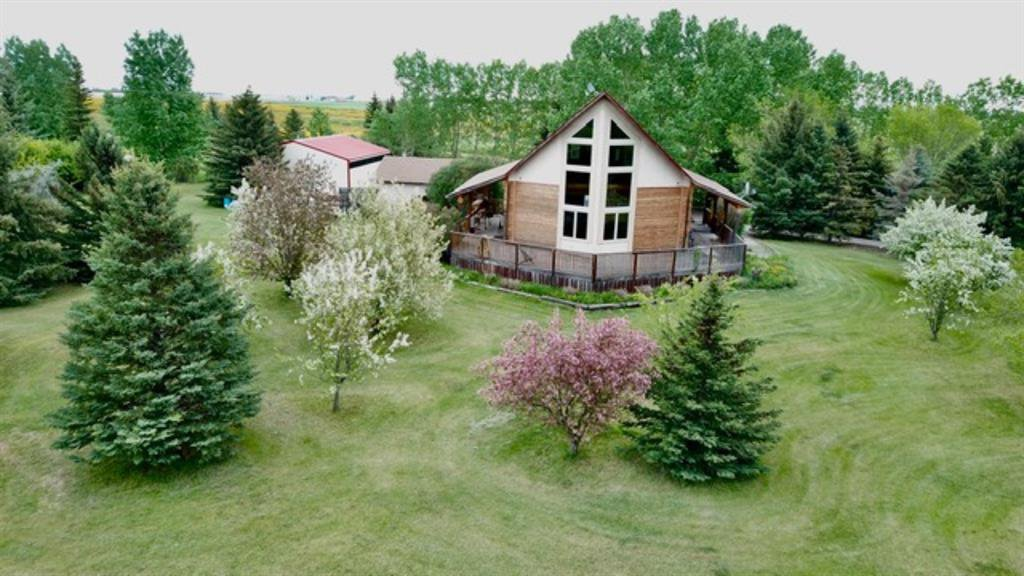 Main Photo: 281016 Twp Rd 225A in Rural Rocky View County: Rural Rocky View MD Detached for sale : MLS®# A1048845