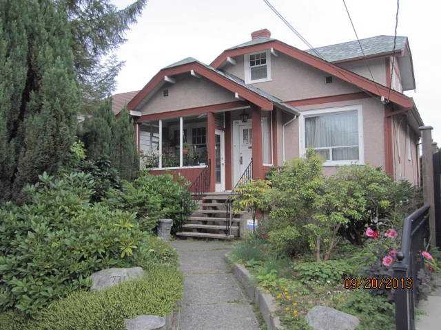 "Main Photo: 771 W 24TH Avenue in Vancouver: Cambie House for sale in ""DOUGLAS PARK"" (Vancouver West)  : MLS®# V1028568"