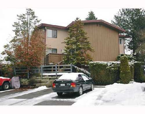 Main Photo: 6 312 HIGHLAND Way in Port Moody: North Shore Pt Moody Home for sale ()  : MLS®# V687586