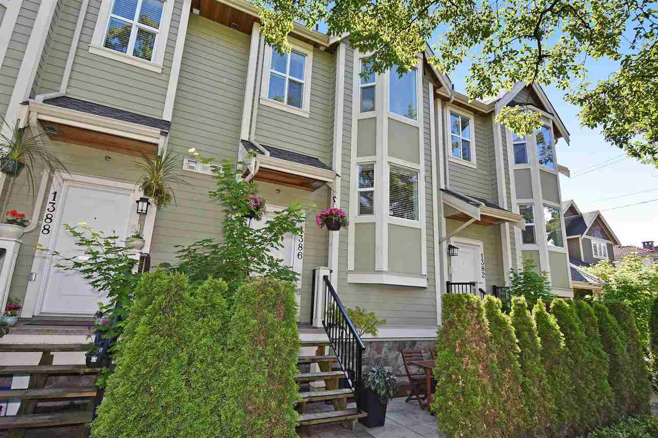 Main Photo: 1386 E 27TH AVENUE in Vancouver: Knight Townhouse for sale (Vancouver East)  : MLS®# R2074490