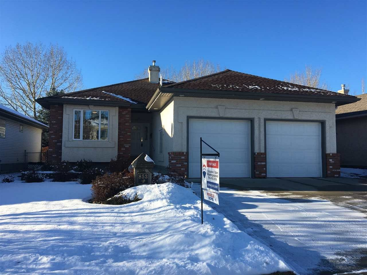 Main Photo: 853 PROCTOR Wynd in Edmonton: Zone 58 House for sale : MLS®# E4175464