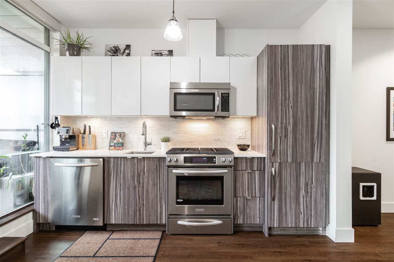 """Main Photo: 312 2250 COMMERCIAL Drive in Vancouver: Grandview Woodland Condo for sale in """"MARQUEE ON THE DRIVE"""" (Vancouver East)  : MLS®# R2452348"""
