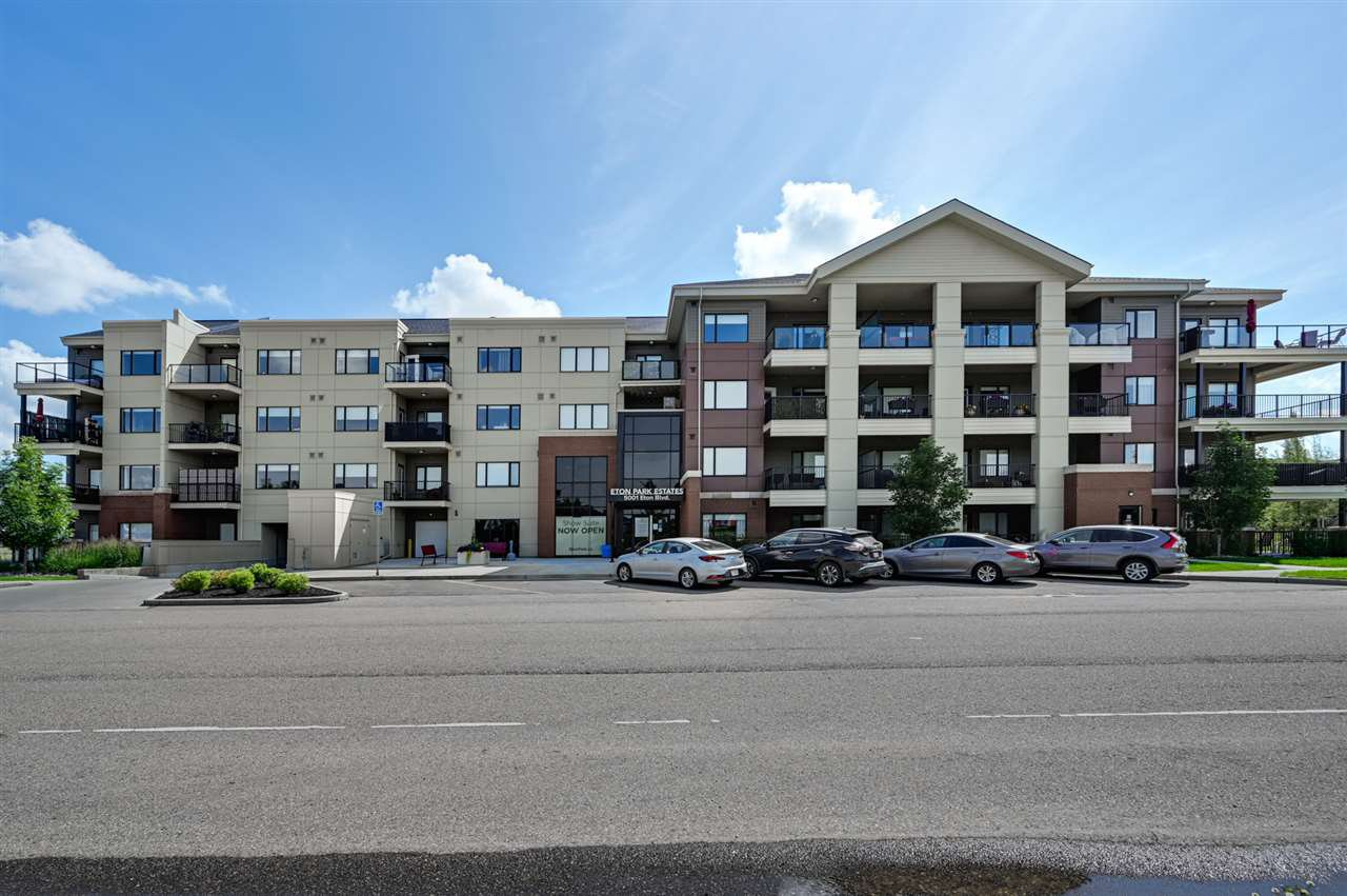 Main Photo: 114 5001 Eton Boulevard: Sherwood Park Condo for sale : MLS®# E4208428