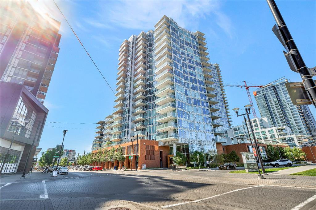 Main Photo: 608 519 RIVERFRONT Avenue SE in Calgary: Downtown East Village Apartment for sale : MLS®# A1028093