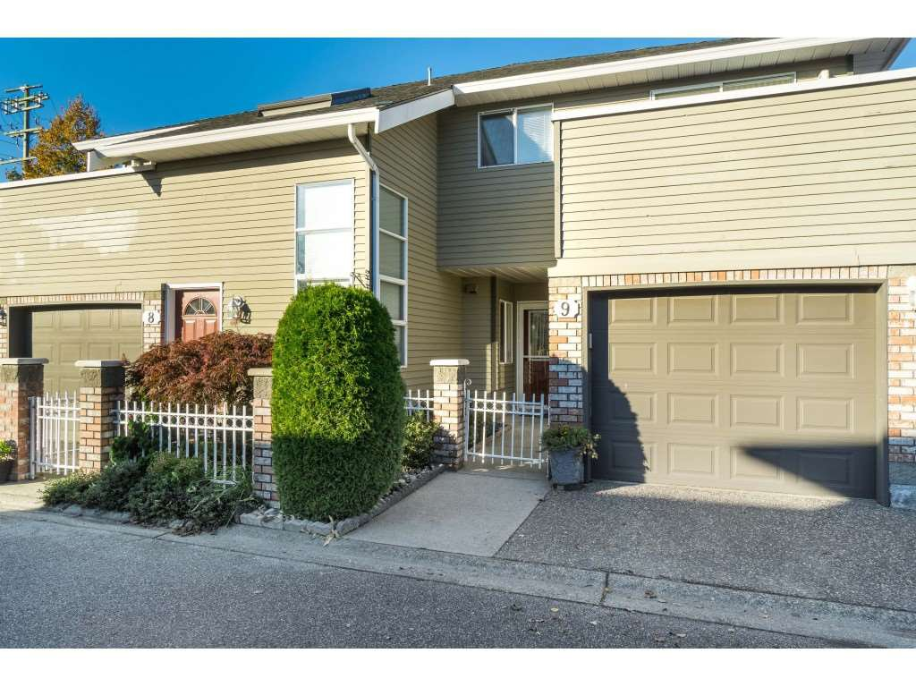 "Main Photo: 9 6380 48A Avenue in Delta: Holly Townhouse for sale in ""GARDEN ESTATES"" (Ladner)  : MLS®# R2512710"