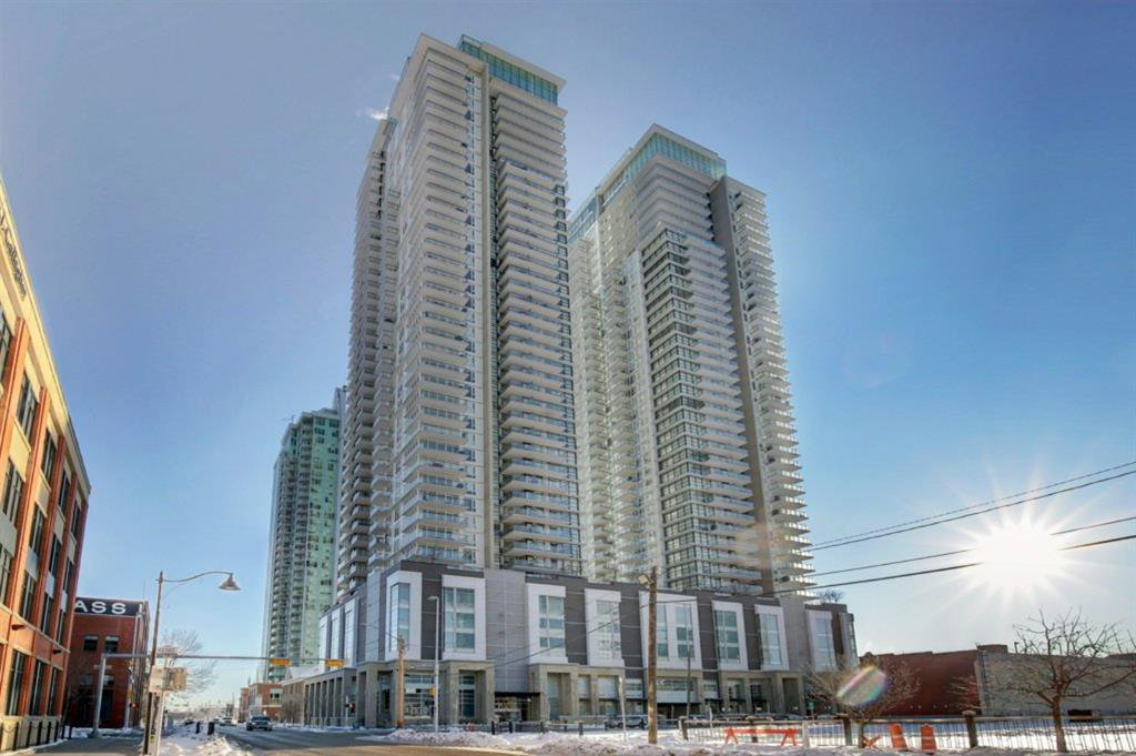 Main Photo: 1901 1188 3 Street SE in Calgary: Beltline Apartment for sale : MLS®# A1057035