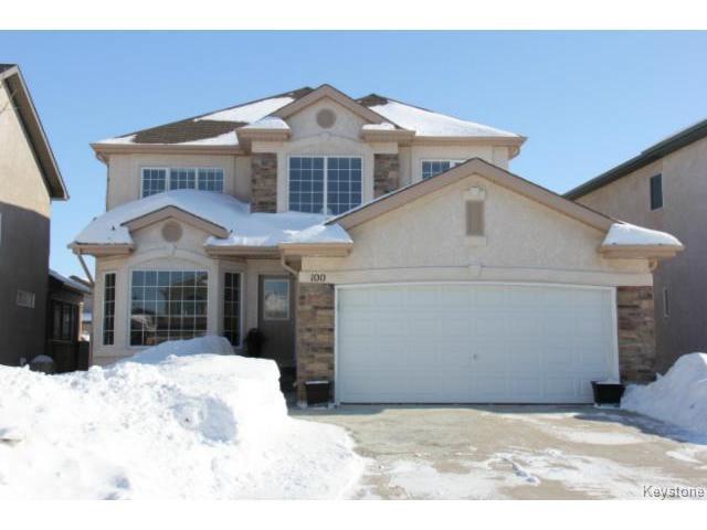 Main Photo: 100 Harding Crescent in WINNIPEG: St Vital Residential for sale (South East Winnipeg)  : MLS®# 1403083