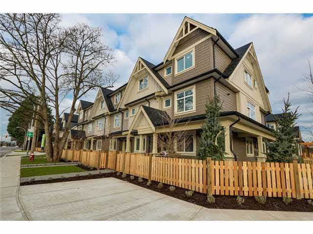 Main Photo: 17 6033 Williams Rd in Richmond: Woodwards Townhouse for sale : MLS®# V1101989
