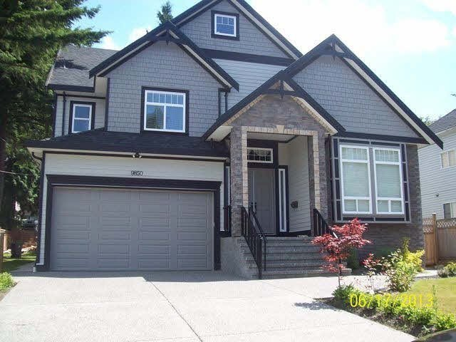 Main Photo: 9850 120A ST in Surrey: Cedar Hills House for sale : MLS®# F1426072