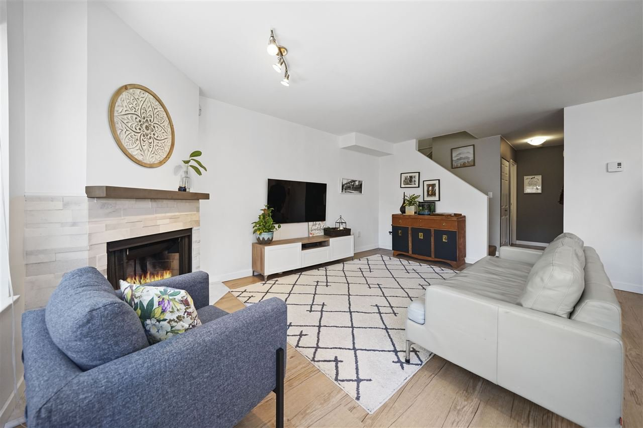 """Main Photo: 3366 MARQUETTE Crescent in Vancouver: Champlain Heights Townhouse for sale in """"CHAMPLAIN RIDGE"""" (Vancouver East)  : MLS®# R2398216"""