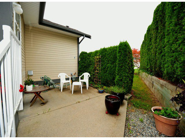 """Photo 18: Photos: # 146 33751 7TH AV in Mission: Mission BC House for sale in """"Heritage Park Place"""" : MLS®# F1321007"""