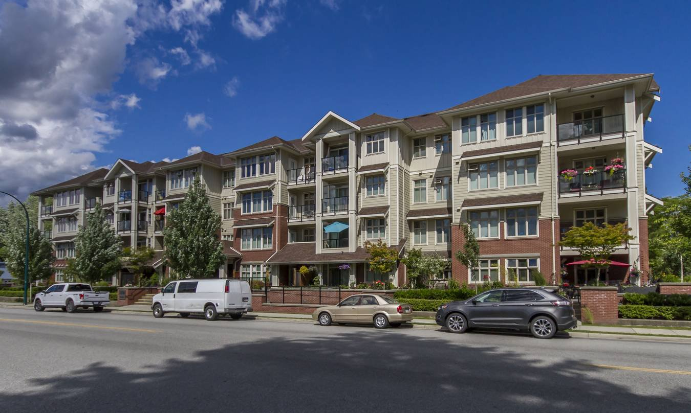 Main Photo: 407-2330 Shaughnessy St in Port Coquitlam: Central Pt Coquitlam Condo for sale : MLS®# R2278385
