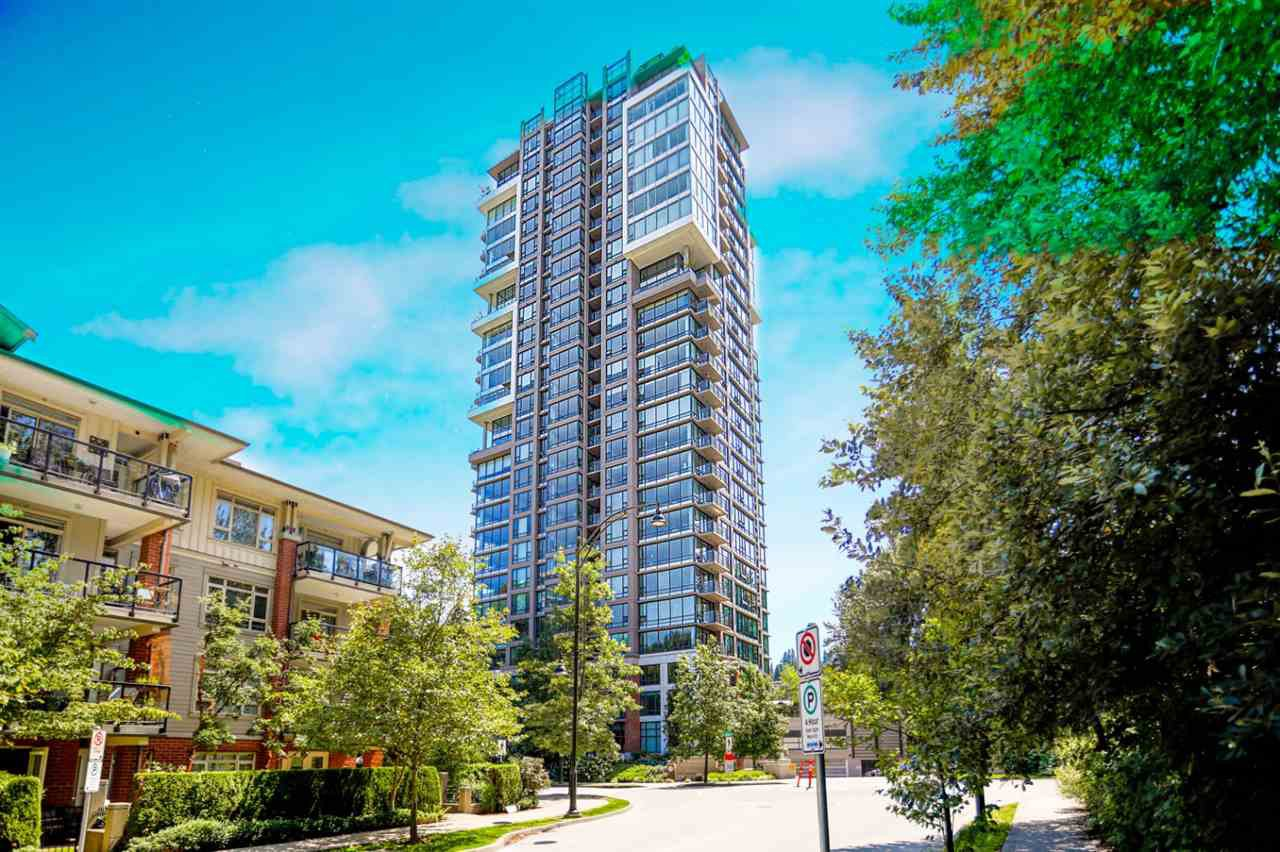 "Main Photo: 405 301 CAPILANO Road in Port Moody: Port Moody Centre Condo for sale in ""THE RESIDENCES"" : MLS®# R2460667"