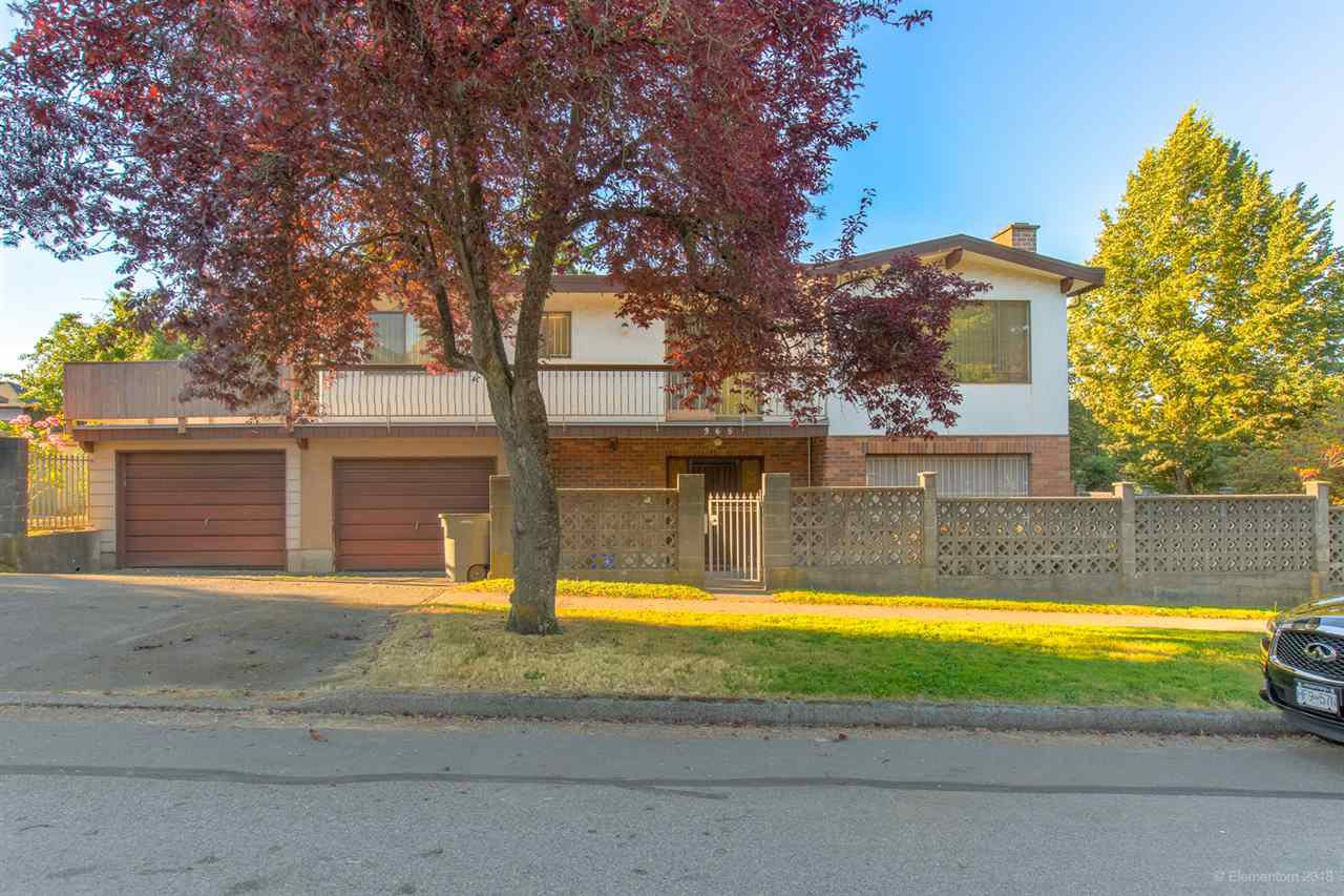 Main Photo: 365 E 29TH Avenue in Vancouver: Main House for sale (Vancouver East)  : MLS®# R2480994