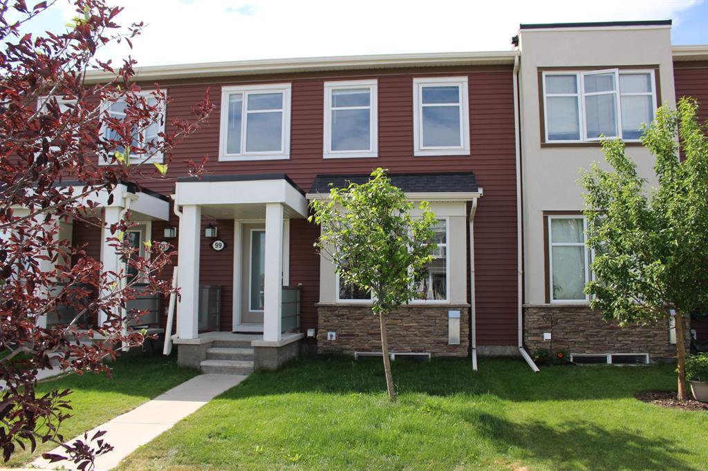 Main Photo: 99 WINDFORD Drive SW: Airdrie Row/Townhouse for sale : MLS®# A1019805