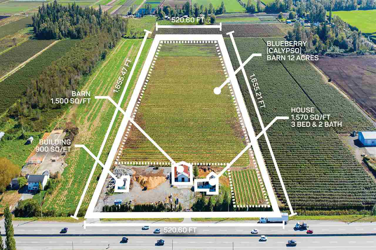 Main Photo: 3386 176 Street in Surrey: Serpentine Agri-Business for sale (Cloverdale)  : MLS®# C8034496