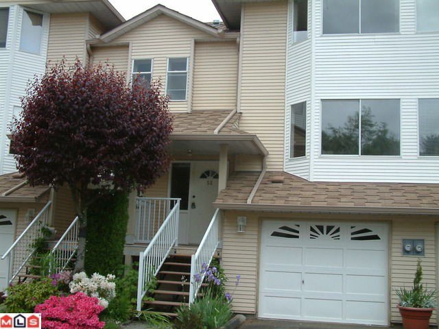 "Main Photo: 53 3087 IMMEL Street in Abbotsford: Central Abbotsford Townhouse for sale in ""CLAYBURN ESTATES"" : MLS®# F1215831"