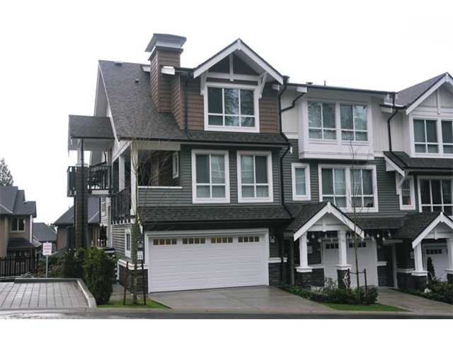 "Main Photo: 115 1460 SOUTHVIEW Street in Coquitlam: Burke Mountain Townhouse for sale in ""CEDAR CREEK"" : MLS®# V984770"