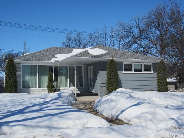 Main Photo: 625 Cordova Street in Winnipeg: Single Family Detached for sale (River Heights)  : MLS®# 1306473