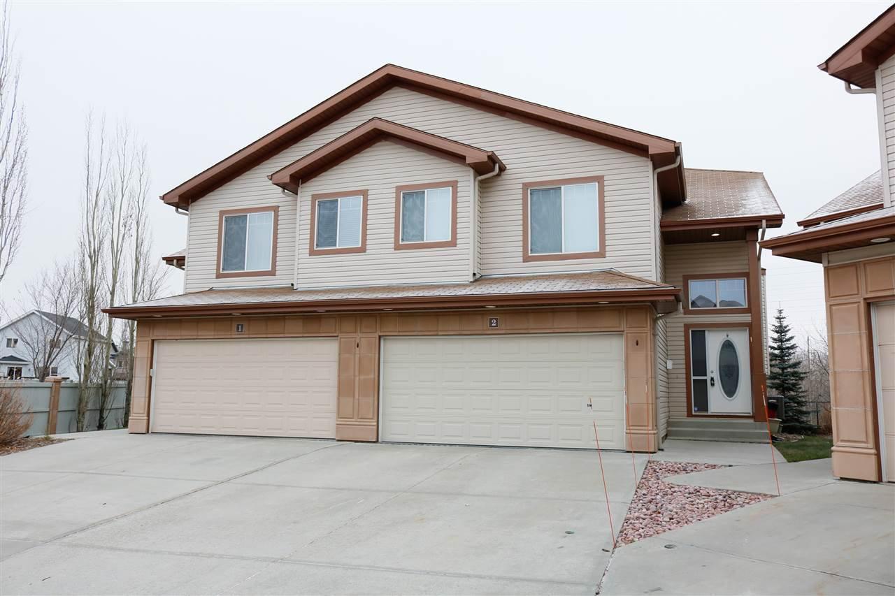 Main Photo: 2 2815 34 Avenue in Edmonton: Zone 30 House Half Duplex for sale : MLS®# E4207549