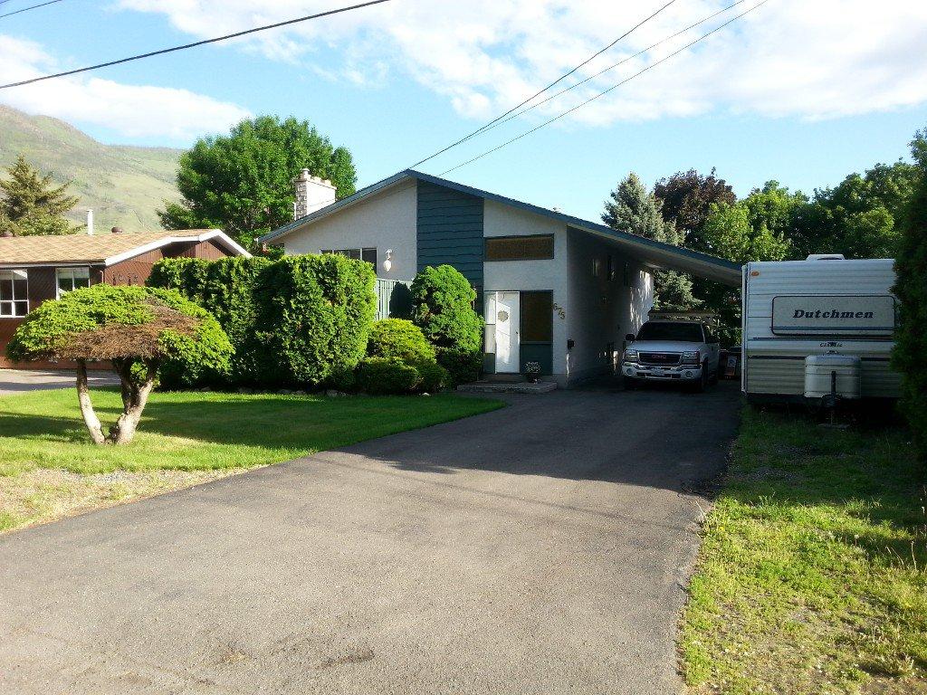 Main Photo: 675 Steinke Place in Kamloops: Westsyde House for sale : MLS®# 122804