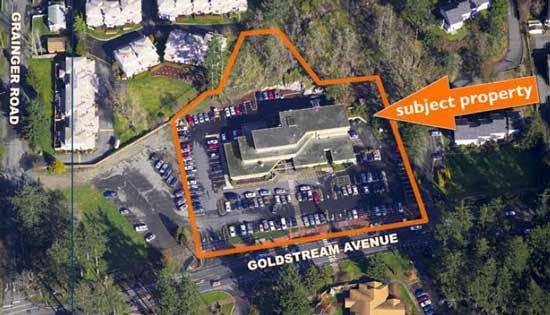 Main Photo: 592 Goldstream Avenue in Victoria: Home for sale