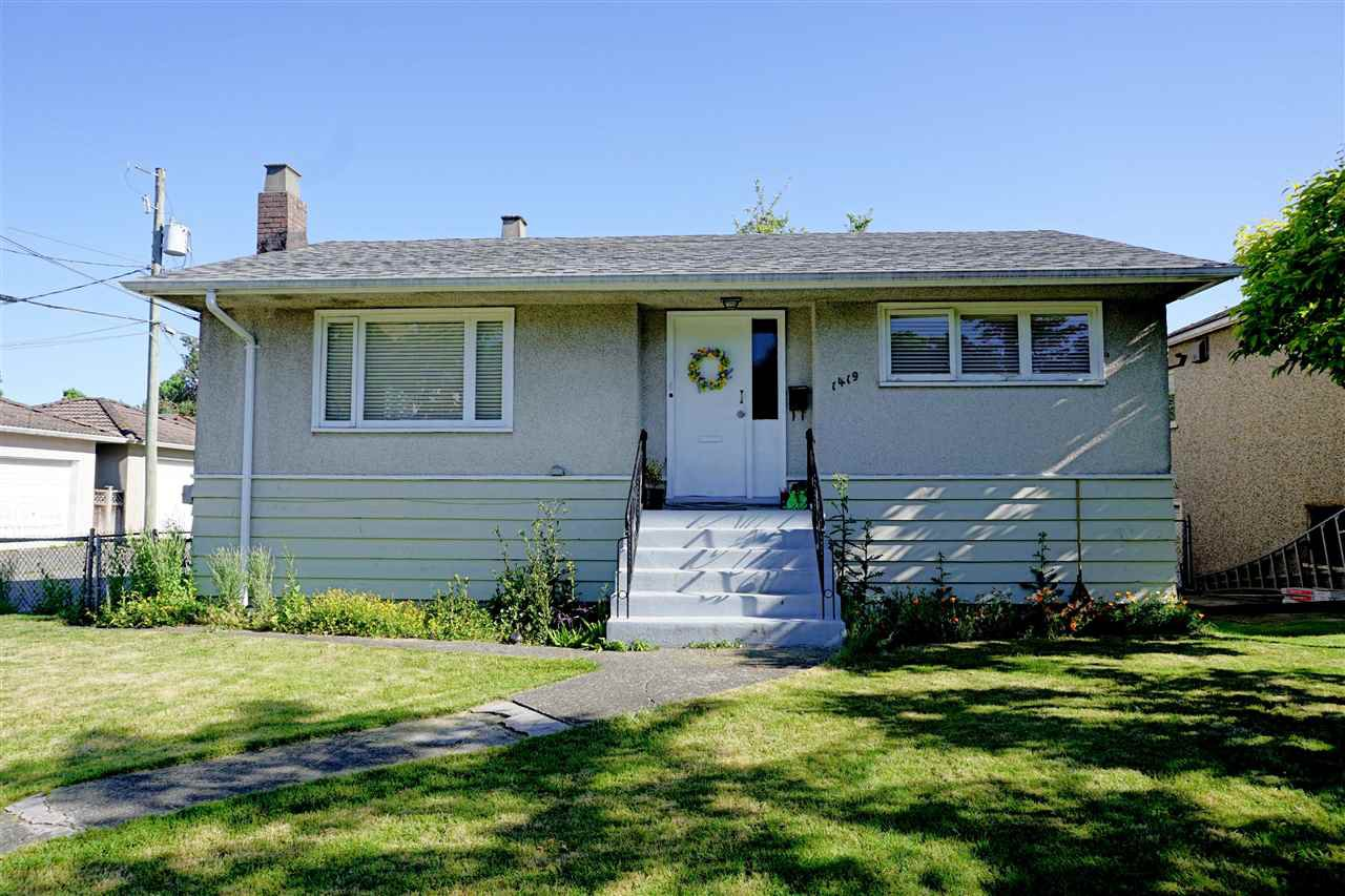 Main Photo: 1419 E 27TH AVENUE in Vancouver: Knight House for sale (Vancouver East)  : MLS®# R2068646
