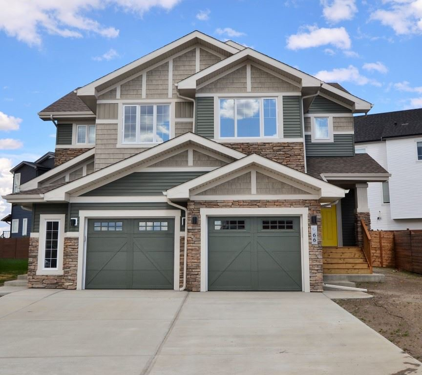 Main Photo: 64 JAMES Crescent: St. Albert House Half Duplex for sale : MLS®# E4185188