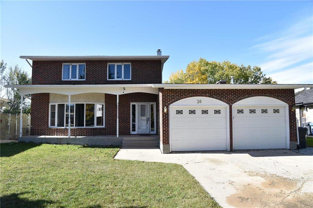 Main Photo: 30 Park Terrace Drive in Winnipeg: Southdale Residential for sale (2H)  : MLS®# 202025345