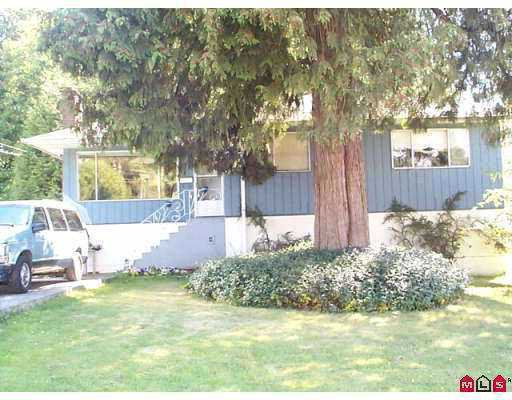 Main Photo: 14906 GLEN AVON DR in Surrey: Bolivar Heights House for sale (North Surrey)  : MLS®# F2602259