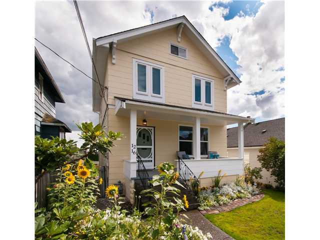 Main Photo: 1216 HAMILTON Street in New Westminster: West End NW House for sale : MLS®# V988435