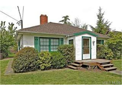 Main Photo: 1606 Burton Ave in VICTORIA: Vi Oaklands Single Family Detached for sale (Victoria)  : MLS®# 432900