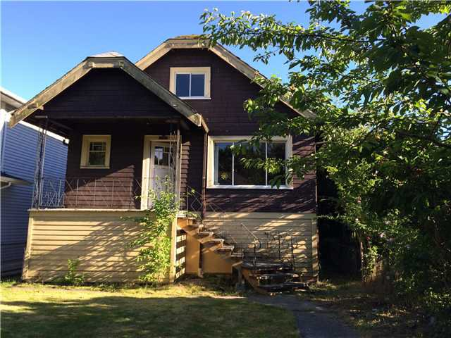 Main Photo: 1040 E 22ND AV in Vancouver: Fraser VE House for sale (Vancouver East)  : MLS®# V1069382