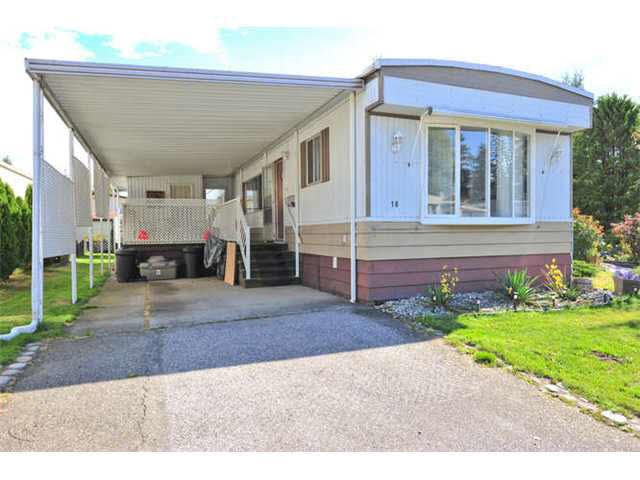 Main Photo: 18 8560 156 STREET in Surrey: Fleetwood Tynehead Manufactured Home for sale : MLS®# R2042111