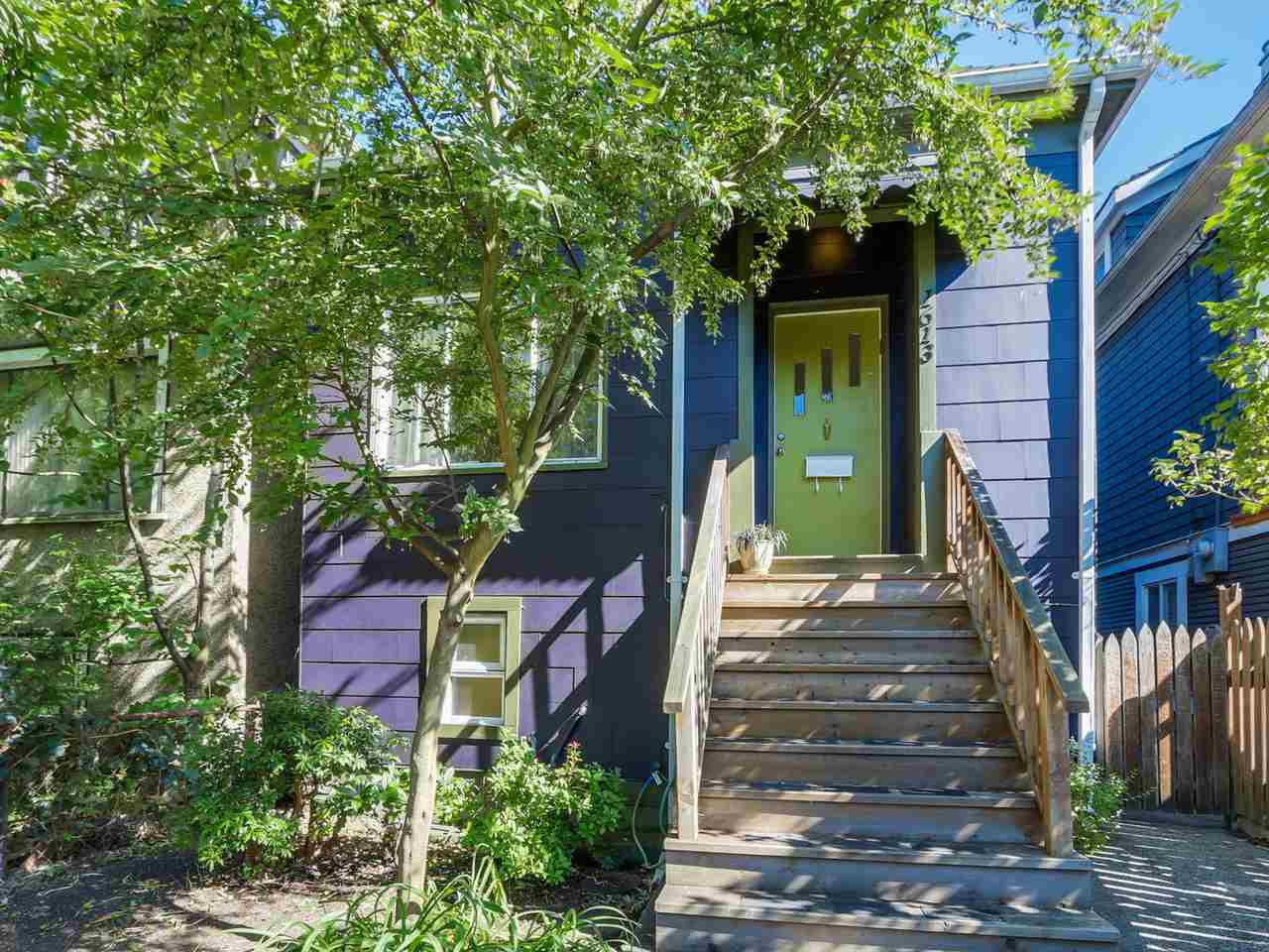 Main Photo: 1613 E 4TH AVENUE in Vancouver: Grandview VE House for sale (Vancouver East)  : MLS®# R2096953