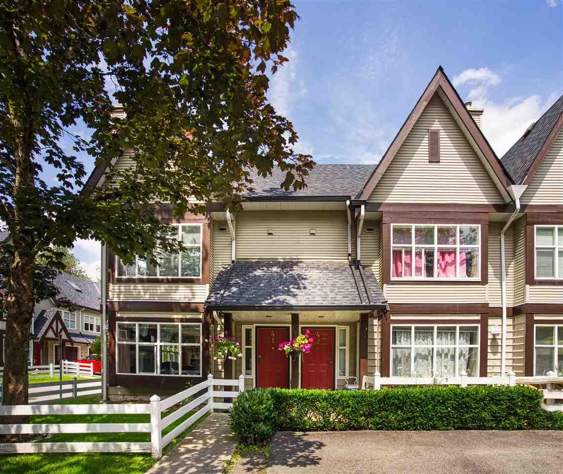 "Main Photo: 41 11757 236 Street in Maple Ridge: Cottonwood MR Townhouse for sale in ""Galiano"" : MLS®# R2473322"
