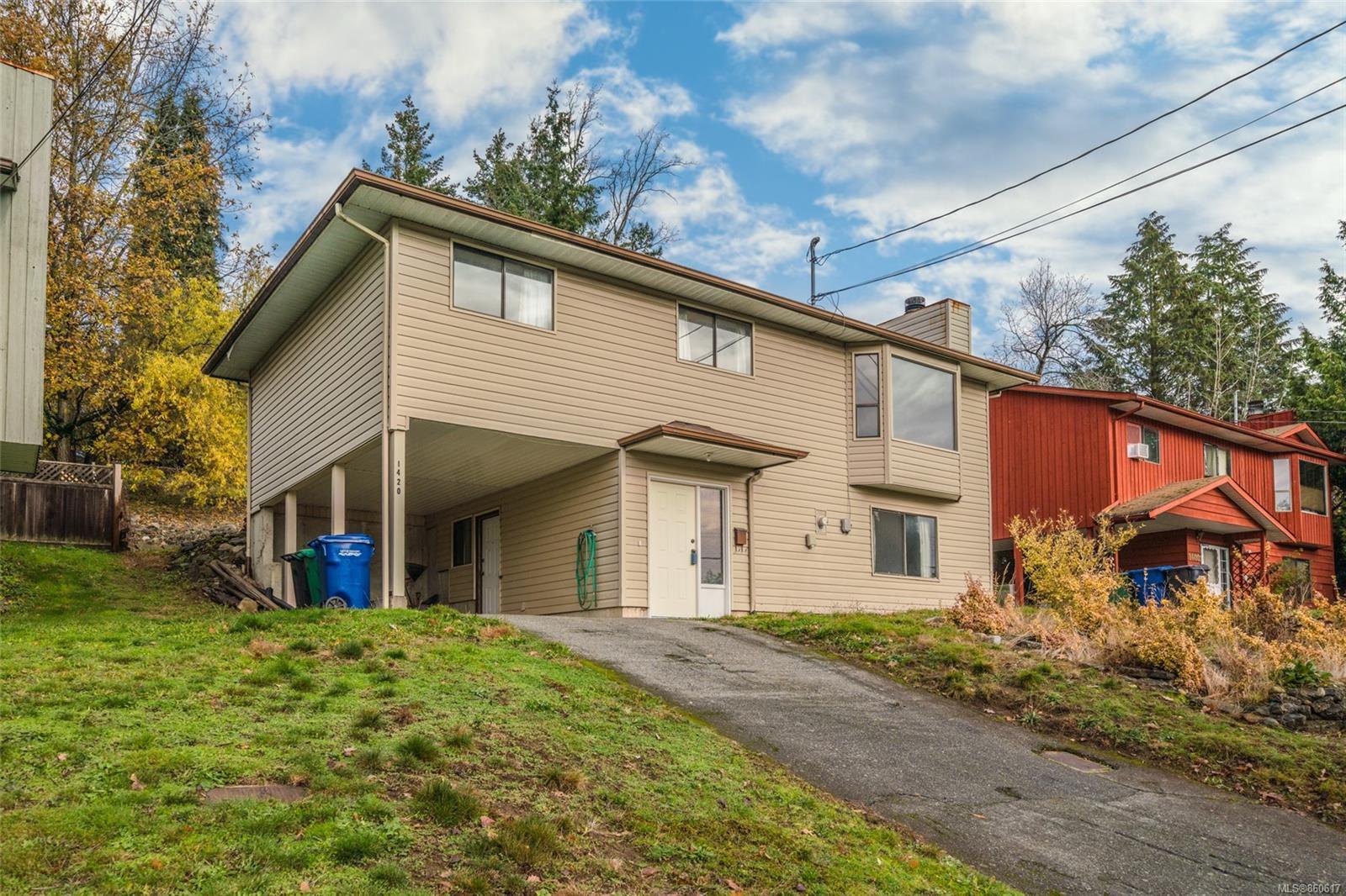 Main Photo: 1420 Bush St in : Na Central Nanaimo House for sale (Nanaimo)  : MLS®# 860617