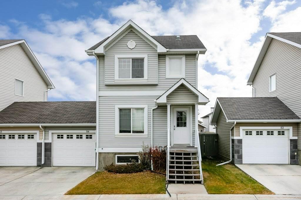 Main Photo: #84 2503 24 ST NW in Edmonton: Zone 30 House Half Duplex for sale