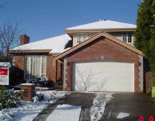 "Main Photo: 18916 63RD AV in Surrey: Cloverdale BC House for sale in ""CLOVERDALE,CLAYTON HILL"" (Cloverdale)  : MLS®# F2605218"